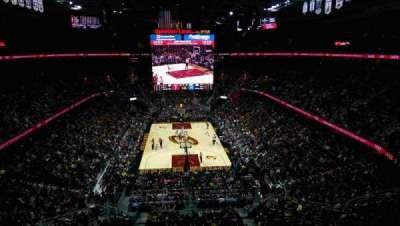 Quicken Loans Arena, sección: 217, fila: 2, asiento: 4
