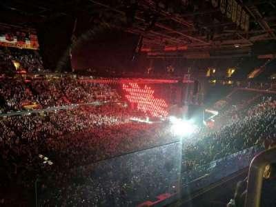 Quicken Loans Arena, sección: 205, fila: 2, asiento: 16