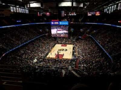 Quicken Loans Arena, sección: 218, fila: 9, asiento: 2
