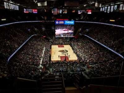 Quicken Loans Arena, sección: 216, fila: 10, asiento: 17