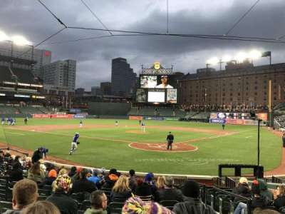 Oriole Park at Camden Yards, sección: 40, fila: 14, asiento: 2
