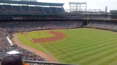Turner Field, sección: 425, fila: 2, asiento: 6