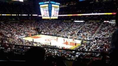 Philips Arena, sección: 209, fila: C, asiento: 1