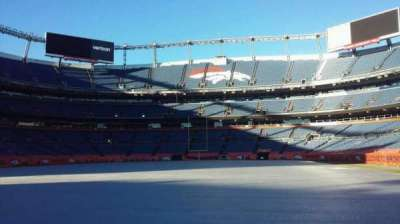 Sports Authority Field at Mile High, sección: 130, fila: 1