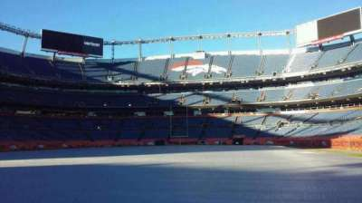 Sports Authority Field at Mile High, sección: 129, fila: 1