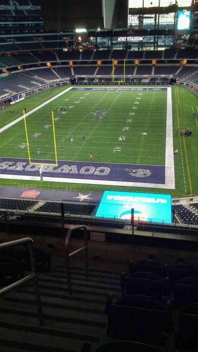AT&T Stadium, sección: 345, fila: 5