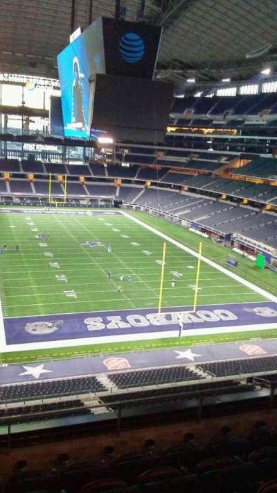 AT&T Stadium, sección: 350, fila: 5
