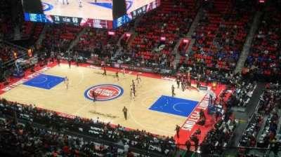 Little Caesars Arena, sección: 209, fila: 3, asiento: 10