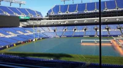 M&T Bank Stadium, sección: Press Box
