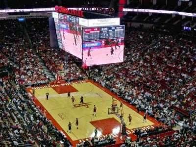 Toyota Center, sección: 420, fila: 13, asiento: 17