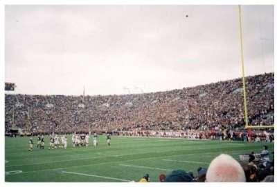 Notre Dame Stadium, sección: 2, fila: 9, asiento: 9