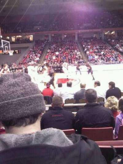 Fifth Third Arena, sección: 106, fila: 5