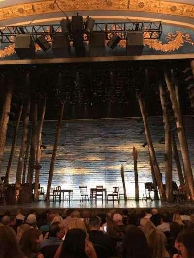 Gerald Schoenfeld Theatre, sección: Orchc, fila: K, asiento: 111