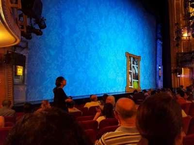 Walter Kerr Theatre, sección: Orchestra, fila: K, asiento: 17