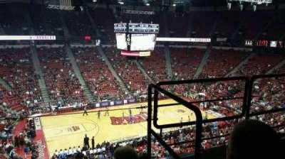 Thomas & Mack Center, sección: 229, fila: c, asiento: 6
