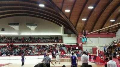 Chase Family Arena, sección: 107, fila: E, asiento: 6