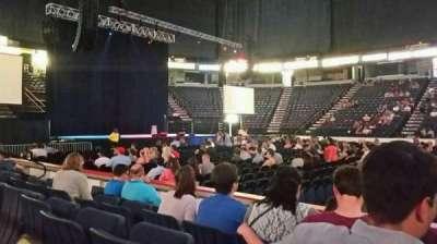 Times Union Center, sección: 106, fila: DD, asiento: 1