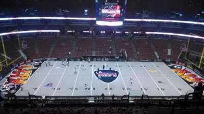 Honda Center, sección: 434, fila: M, asiento: 8