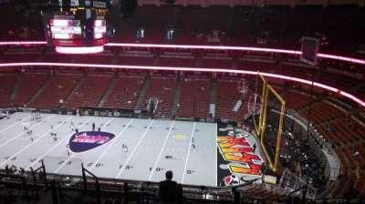 Honda Center, sección: 431, fila: M, asiento: 8