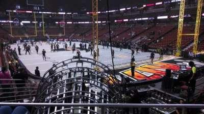 Honda Center, sección: 217, fila: P, asiento: 8