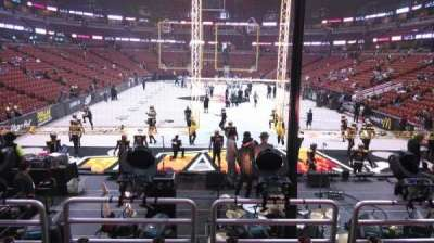 Honda Center, sección: 214, fila: P, asiento: 8