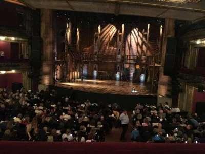 PrivateBank Theatre, sección: Dress Circle R, fila: A, asiento: 226