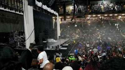 Royal Farms Arena, sección: 105, fila: J, asiento: 9