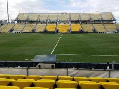 Mapfre Stadium, sección: 106, fila: 5, asiento: 9