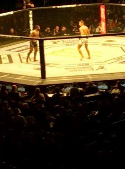 Madison Square Garden, sección: 119, fila: 22