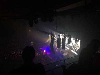 Madison Square Garden, sección: 313, fila: BS3, asiento: 16