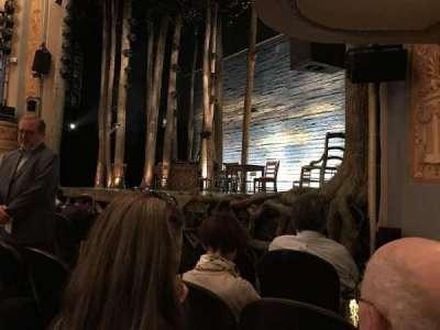 Gerald Schoenfeld Theatre, sección: Orchestra-Partial View, fila: D, asiento: 14