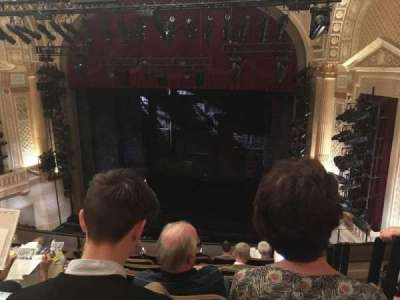 Samuel J. Friedman Theatre, sección: Mezzanine, fila: E, asiento: 120
