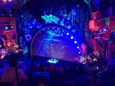Palace Theatre (Broadway), sección: Rear Mezzanine, fila: J, asiento: 2