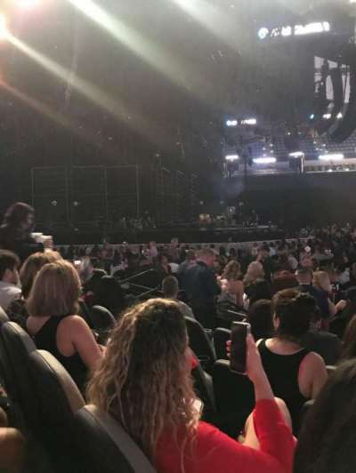 AT&T Center, sección: 8, fila: 9, asiento: 11