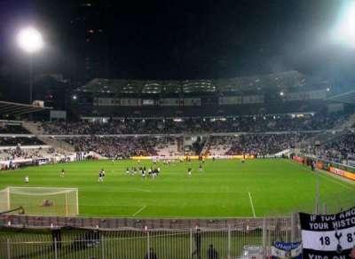 BJK Inönü Stadium sección Visitors Section