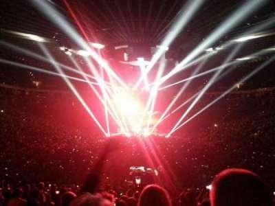 Oracle Arena, sección: 108, fila: 22, asiento: 2
