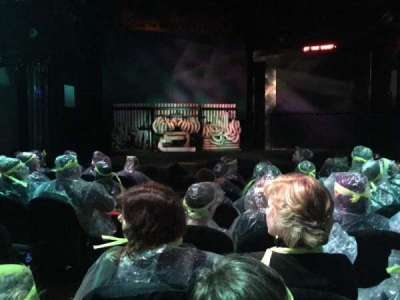 Astor Place Theatre, fila: GG