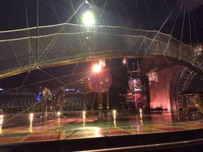 Cirque Du Soleil, sección: 104, fila: AA, asiento: 1