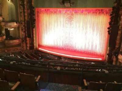 New Amsterdam Theatre, sección: Mezz, fila: DD, asiento: 4