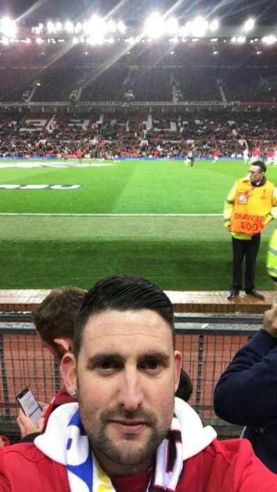 Old Trafford, sección: Sth, fila: Cc, asiento: 178