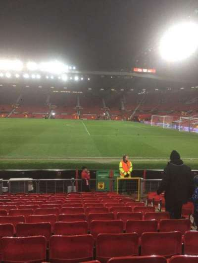 Old Trafford, sección: North, fila: Pp, asiento: 2