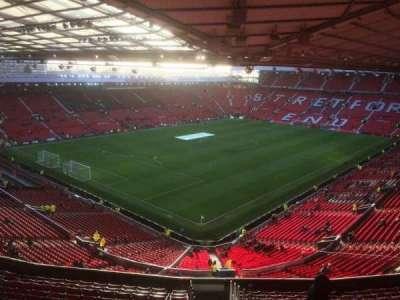 Old Trafford, sección: NE, fila: TT, asiento: 150