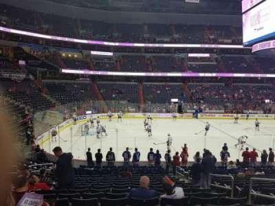 Capital One Arena, sección: 109, fila: S, asiento: 16