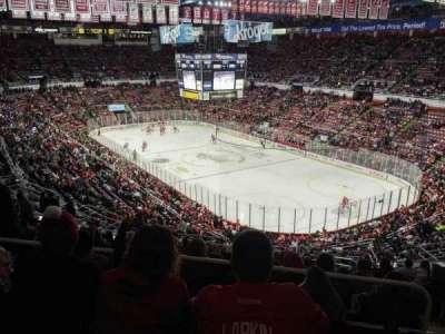 Joe Louis Arena, sección: 203B, fila: 17, asiento: 18