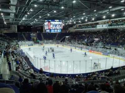 Ricoh Coliseum, sección: 116, fila: N, asiento: 21