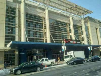 Verizon Center, sección: exterior