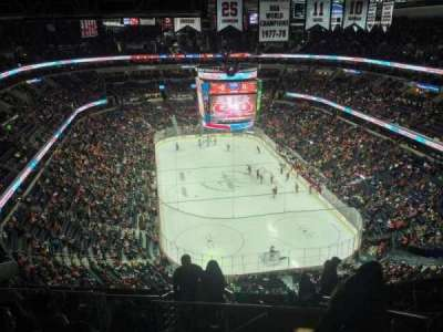 Verizon Center, sección: 424, fila: M, asiento: 20
