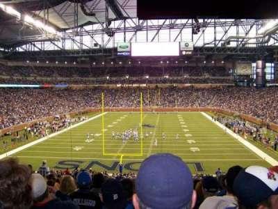 Ford Field, sección: 138, fila: 42, asiento: 12