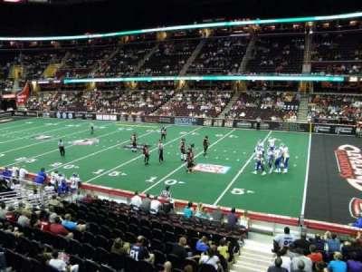 Quicken Loans Arena, sección: 128, fila: 15, asiento: 1