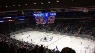Madison Square Garden, sección: 214, fila: 13, asiento: 8